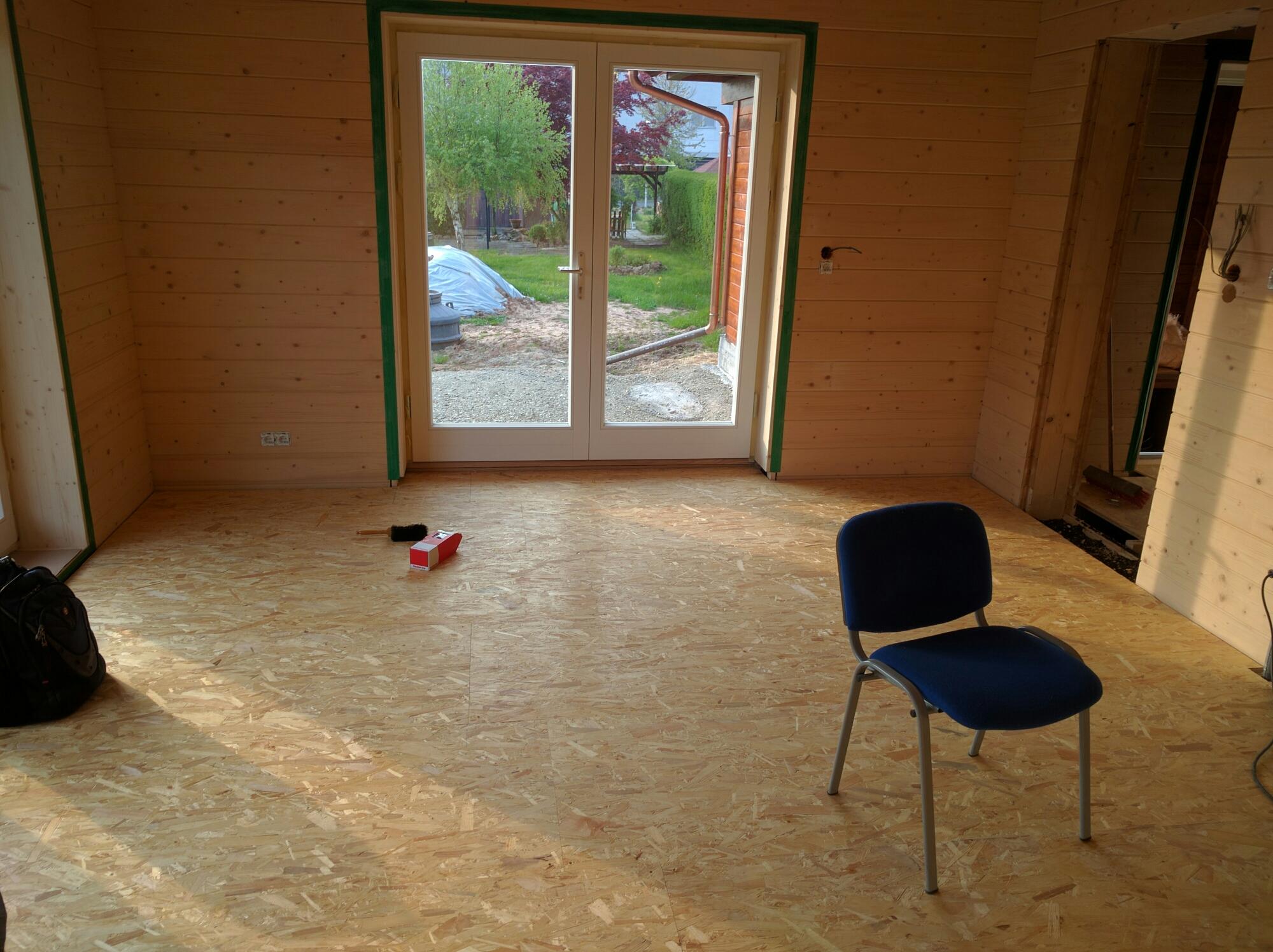 Osb Als Fußboden ~ Elektroinstallation innenausbau osb platten bau herz
