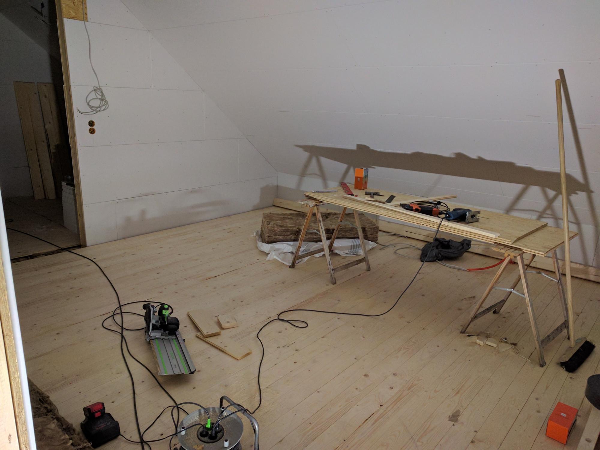Fußbodenaufbau Bad ~ Rigips platten osb platten spachteln abschleifen fußbodenaufbau